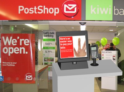NZ Post Bill Payment Kiosk